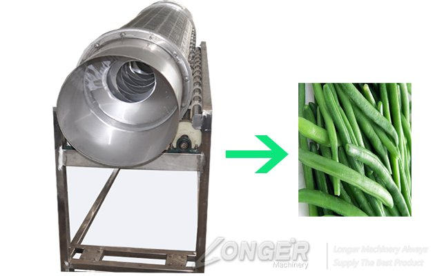 China Made Green Bean Head and End Cutter Machine