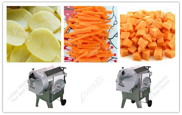 image for root vegetable cutting machine