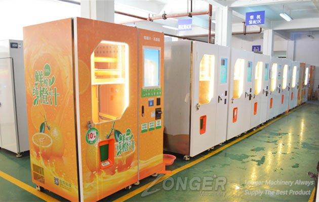 Why Choose Fresh Fruit Juice Vending Machine