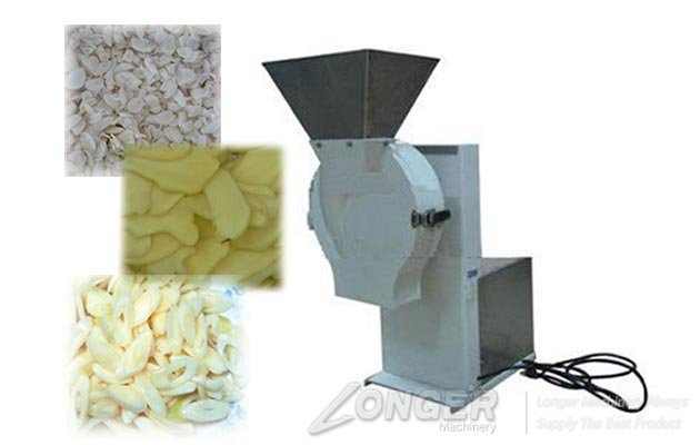 Garlic slices machine
