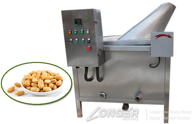 peanut deep fryer machine