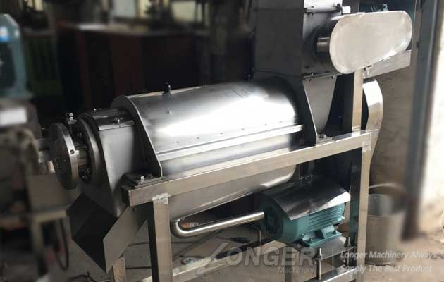 commercial crush type juice extractor machine