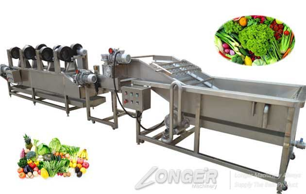 <b>Industrial Fruit Vegetable Washing And Drying Machine Line</b>