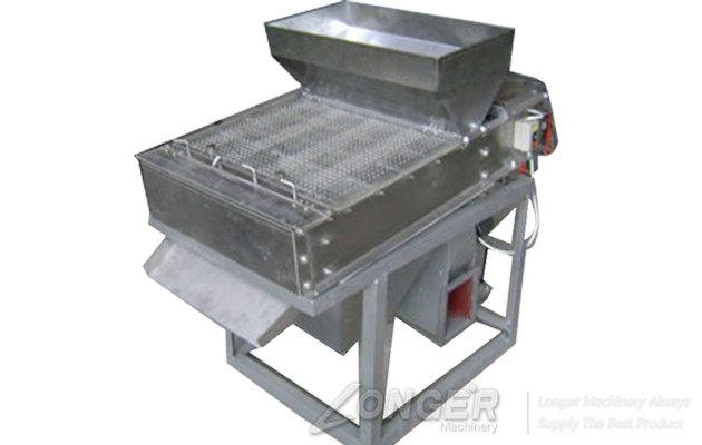 Commercial Dry Type Red Coated Peanut Peeling Machine For Sale