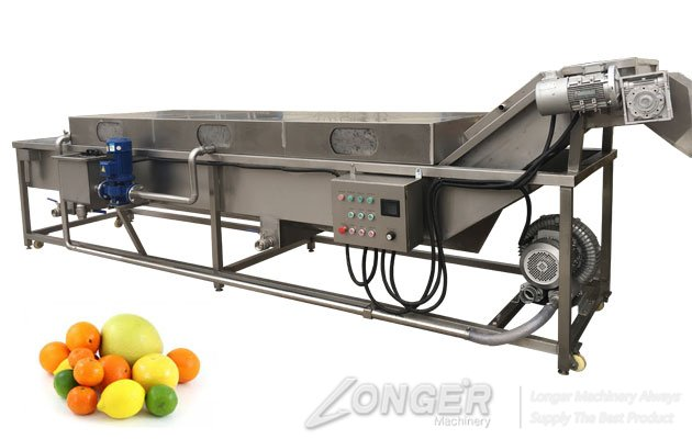 2019 New Commercial Suffing Type Fruit and Vegetable Washer