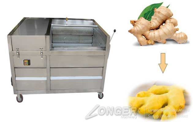 Vegetable Washing and Peeling Machine Commercial Big Capacity