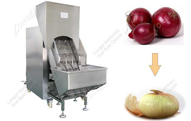 <b>Automatic Onion Peeling Machine Of High Capacity Commercial</b>