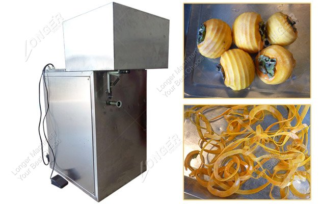 Vacuum Intaking Automatic Persimmon Peeling Machine