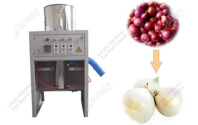 Small Model China Made Onion Skin Removal Machine
