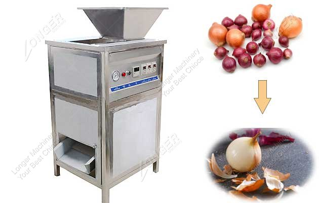 Hot Sale Onion Peeler Machine With Air Compressed