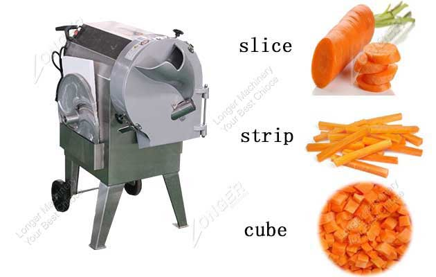 Stainless Steel Root Vegetable Cutting Machine