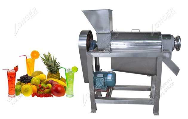 <b>Spiral Type Fruit Juice Extraction Machine</b>