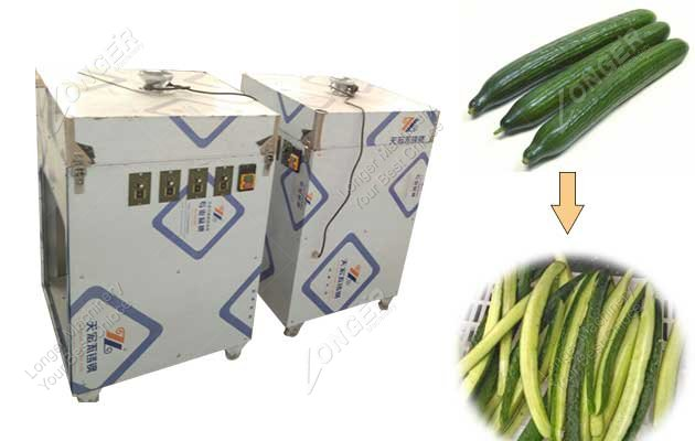 Stainless Steel Cucumber Wedge Cutting Machine