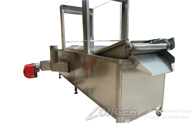 Continuous Peanut Fryer Machine|Pork Skin Fry Machine Electric Heating