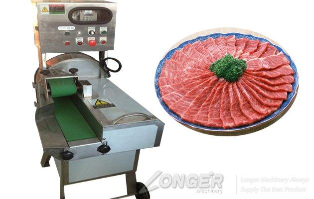 Cooked Meat Slicer|Pork Skin Cutting Machine