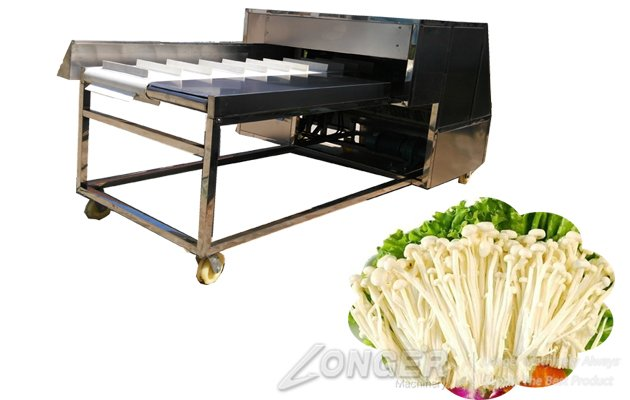 mushroom root cutting machine