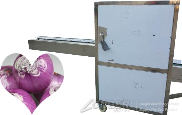 electric onion cutter machine