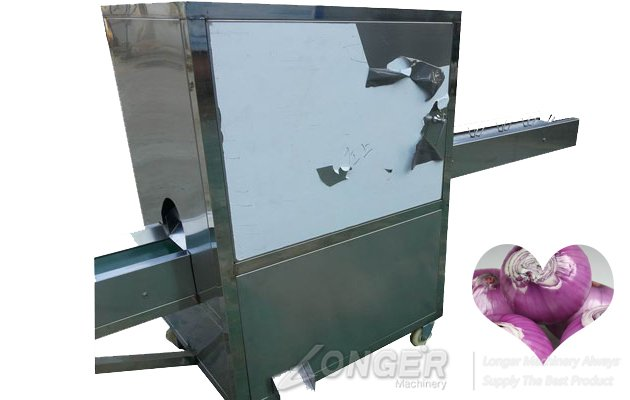 automatic onion cutter machine