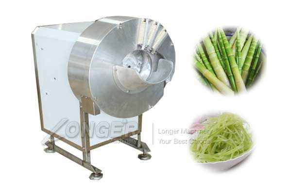bamboo shoots cutting machine