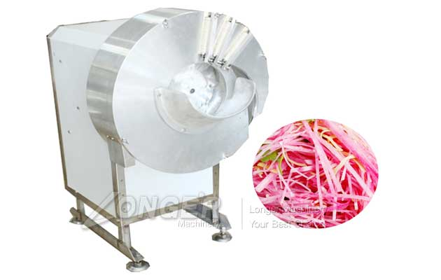 carrot slicer cutting machine