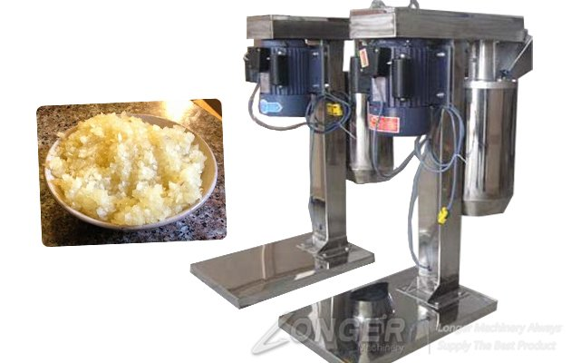Stainless Steel Garlic Paste Crushing Machine With 500kg/h Capacity