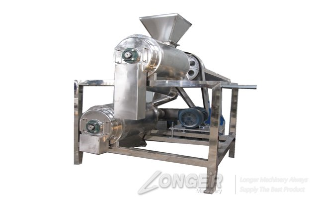fruit pulping and beating machine
