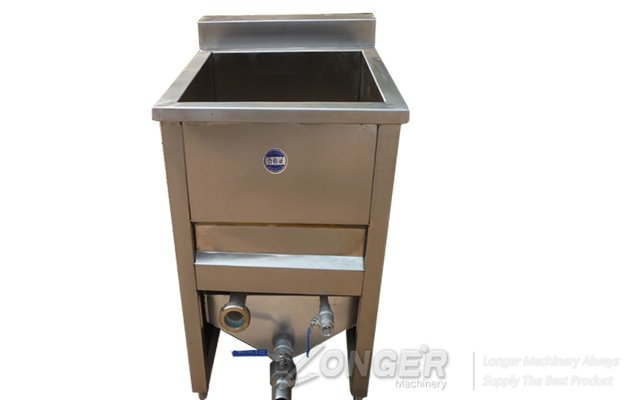 Model Water-Oil Mix Potato Chips Deep Fryer Machine