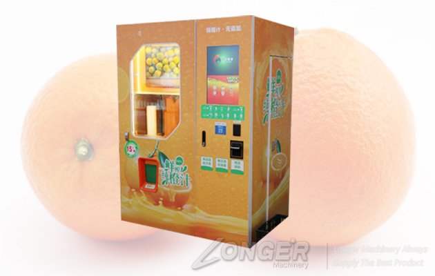 fresh orange juice vending machine,