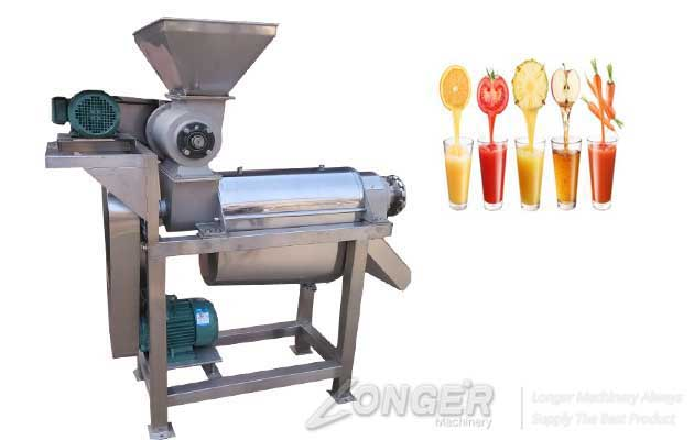 High Juice Rate Small Crush Type Fruit Juice Extracting Machine