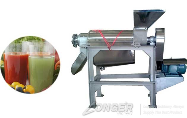 Natural industrial sprial fruit juice extractor