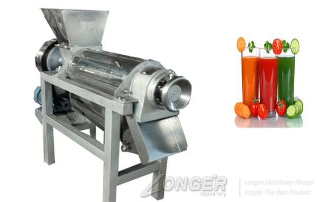 energy saving sprial fruit juice extracting machine