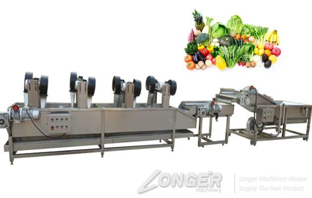 fruit and vegetable washing and drying machine