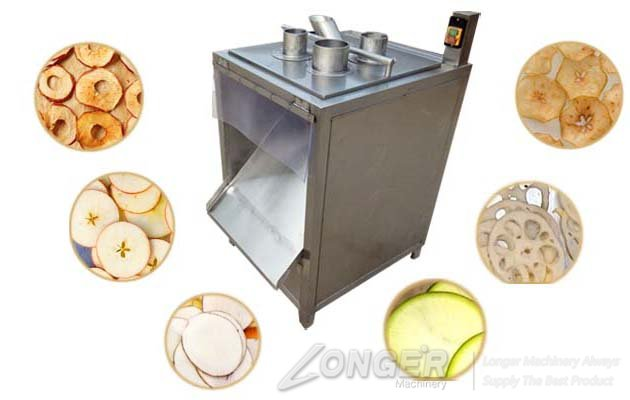 fruit and vegetable chips cutting machine