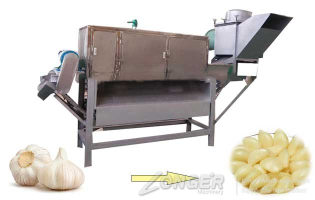 high efficiency garlic peeling machine