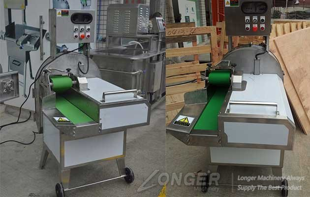 multifunctional vegetable cutting machine in factory