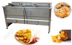 French Fries Deep Fryer Machine Adjustable Capacity