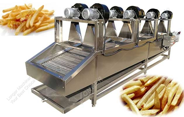 french fries dryer machine