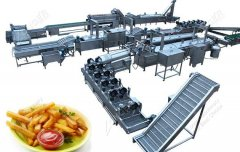 Fully Automatic French Fries Production Line For Sale