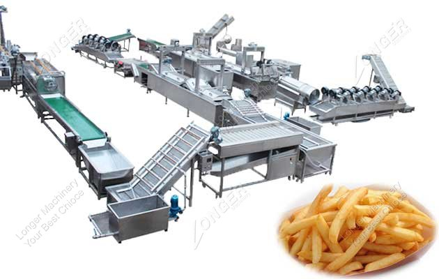 commercial french fries machine