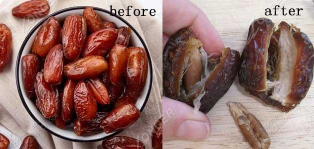 date pitting effect
