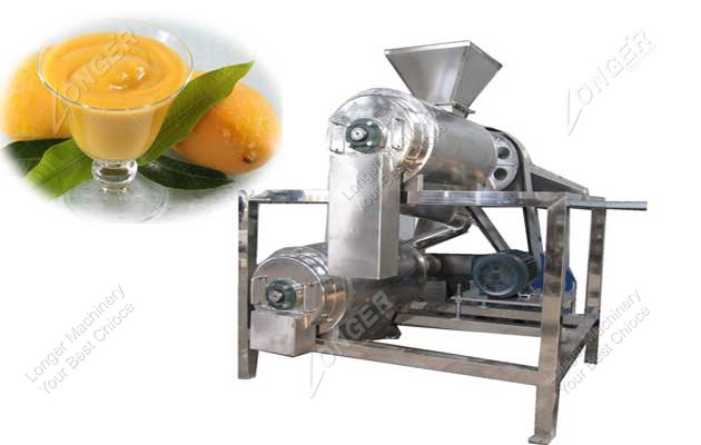 mango pulping and beating machine