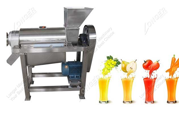 spiral juicing machine