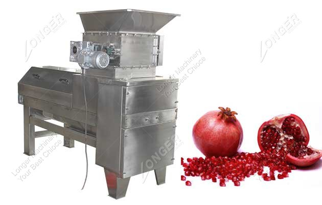 pomegranate seed separator machine