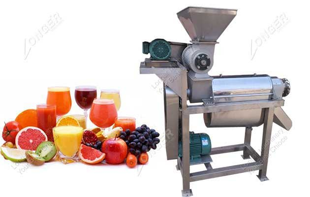 Commercial Crush type Fruit Juice Extraction Machine Manufacturer