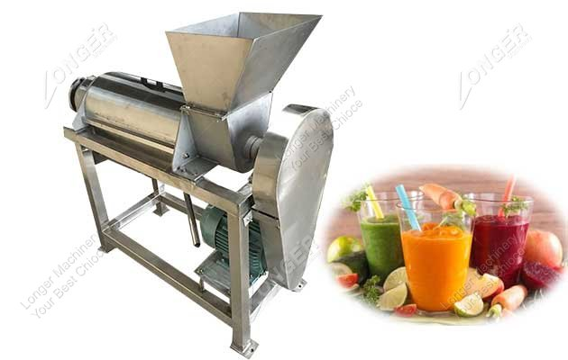 commercial spiral juice making machine
