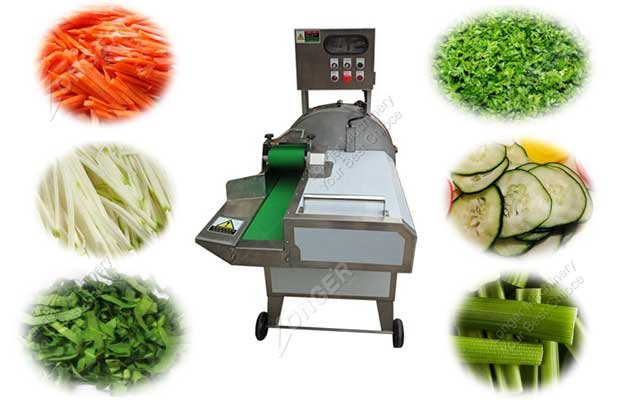 double frequency vegetable cutting machine