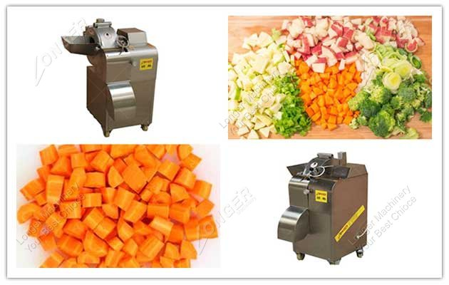 image for tomato cube cutting machine