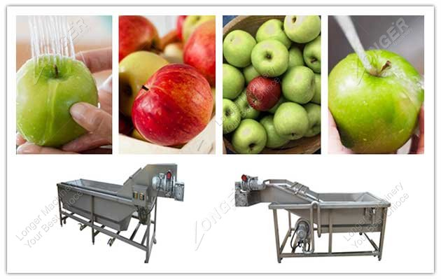 image for apple cleaning machine