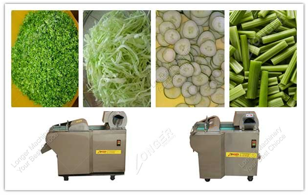 image of vegetable cutting machine and effect