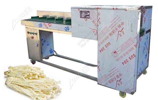 needle mushroom root cutting machine image